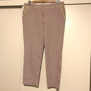 J.Crew Cafe Capri Pants Size 10